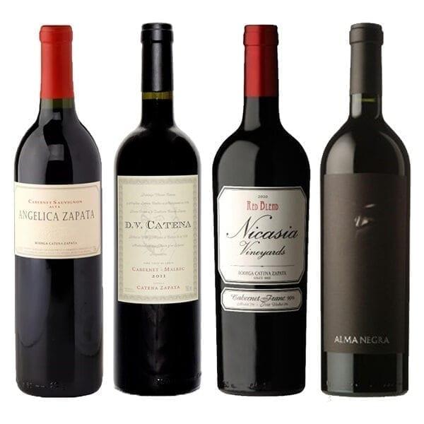 Combo Vinhos: Angélica Zapata, Dv Catena, Nicasia, Alma Negra