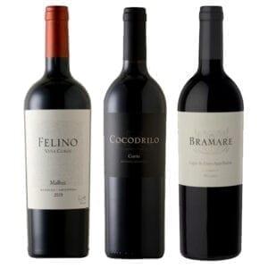 Combo Vinhos: Felino, Bramare, Cocodrilo