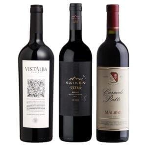 Combo Vinhos: Kaiken Malbec, Carmelo Patti, Vistalba